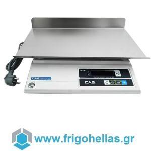 CAS AD-3 Ηλεκτρονική Ζυγαριά Για Έλεγχο Βάρους Προιόντων (Ικανότητα Ζύγισης: 1,5/3Kg - Υποδιαίρεση: 0,5/1gr)
