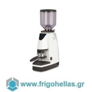 La San Marco SM97 Smart Instant Λευκός Μύλος Άλεσης Καφέ με Ίσια Μαχαίρια - Παραγωγή: 13kg/h - 460Watt