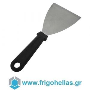 LACOR 60422 (10x11,5cm) Σπάτουλα Inox με Πλαστική λαβή. Διαστάσεις: 100x115mm