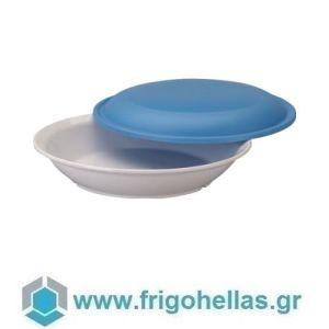 LACOR 66933 Set Πολυκαρβονικού Πιάτου Πρωινού με Καπάκι - ∅22x3cm
