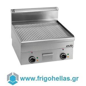 MBM EFT66R Επιτραπέζιο Ηλεκτρικό Πλατό Ραβδωτό - 600x600x270mm