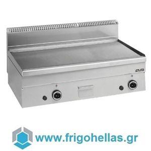 MBM GFT106LC Επιτραπέζιο Πλατώ Υγραερίου Λείο - 1000x600x270mm (Πλάκα Χρωμίου)