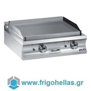 MBM GFT998R Επιτραπέζιο Ραβδωτό Πλατώ Υγραερίου - 800x900x250mm