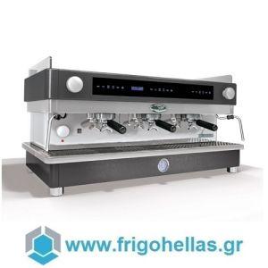 LA SAN MARCO 105 E3 Touch Μαύρη Ηλεκτρονική Αυτόματη Δοσομετρική Μηχανή Καφέ Espresso ( Group: 3 )