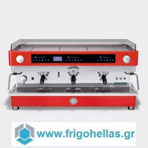 LA SAN MARCO M3 SM Κόκκινη Ηλεκτρονική Αυτόματη Δοσομετρική Μηχανή Καφέ Espresso ( Group: 3 )