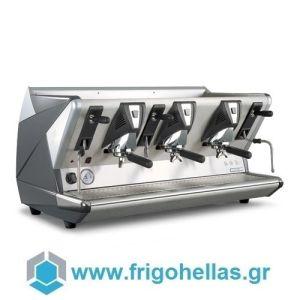 LA SAN MARCO 100 S3 Μαύρη Αυτόματη Δοσομετρική Μηχανή Καφέ Espresso ( Group: 3 )
