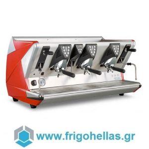 LA SAN MARCO 100 E3 Κόκκινη Ηλεκτρονική Αυτόματη Δοσομετρική Μηχανή Καφέ Espresso ( Group: 3 )