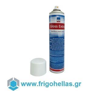 NCH Gloss Extra Γυαλιστικό Βερνίκι για Ανοξείδωτες Επιφάνειες (Spray 600ml)