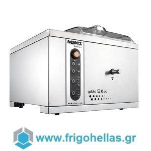 NEMOX GELATO 5K SC CREA SERIE Μηχανή Παγωτού Επαγγελματική (Παραγωγή: 7kg/h ) 650Watt/230V.