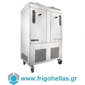 NEMOX GELATO 5+5 TWIN Μηχανή Παγωτού Επαγγελματική (Παραγωγή: 10kg/h ) 1300Watt/230V.