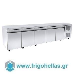 Niki Inox  PA 60 275M Ψυγείo Πάγκος Συντήρησης - 2750x600x880mm (Υποστηρίζεται από εξουσιοδοτημένο Service)