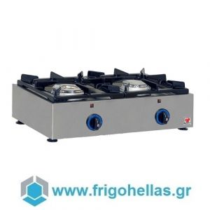 NORTH GAS E22 Επιτραπέζιο Φλόγιστρο Φυσικού Αερίου (Δώρο 1 Μαχαίρι VictorInox)