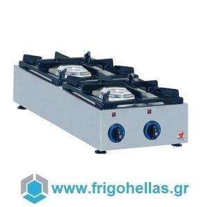 NORTH GAS E22C Επιτραπέζια Φλόγιστρα Φυσικού Αερίου (Δώρο 1 Μαχαίρι VictorInox)