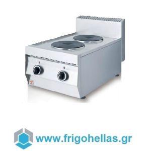 NORTH F22 Ηλεκτρική Επιτραπέζια Κουζίνα (Δώρο 1 Μαχαίρι VictorInox)