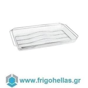 PADERNO 11750-11 (53x32,5cm - GN 1/1) (Σετ 4 Τεμαχίων) Ανοξείδωτο Καλάθι για Τηγάνισμα