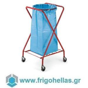 PADERNO 44089-12 (58x56x102cm - 120 Lit) Τρόλεϊ Σακούλας Απορριμάτων