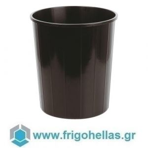 PADERNO 44097-00 (Ø30x32cm) Κάδος Απορριμάτων Πολυπροπυλενίου Μαύρος