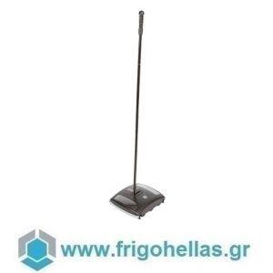 PADERNO 44150-19 (28,5x25x102cm - 600 Lit) Μηχανική Σκούπα Από Ατσάλι Γαλβανιζέ & ABS