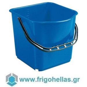 PADERNO 44169B06 (24x19x21,5cm - 6 Lit) Βαθμονομημένος Κουβάς Σφουγγαρίσματος Πολυπροπυλενίου Μπλε