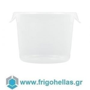 PADERNO 44625-03 (Ø25x19,5cm - 5,7 Lit) Δοχείο Φαγητού Στρογγυλό Πολυπροπυλενίου