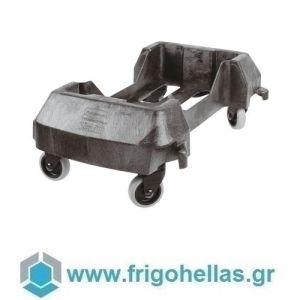 PADERNO 49931-64 (60,6x37,4x21cm) Τροχήλατη Βάση Κάδου Απορριμάτων - SLIM JIM Rubbermaid
