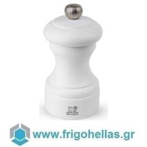 PEUGEOT 22440 BISTRO (10cm) Μύλος Αλατιού Οξιά White Matt (42703S10)