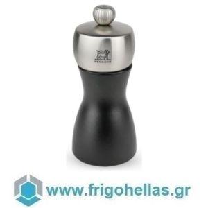 PEUGEOT 21290 FIDJI (12cm) Μύλος Αλατιού Οξιά Black Matt-Inox (42767S12)