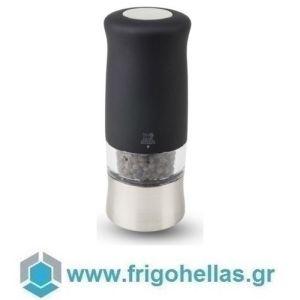 PEUGEOT 22563 ZEPHIR (14cm) Ηλεκτρικός Μύλος Πιπεριού Black Soft Touch (42692B14)