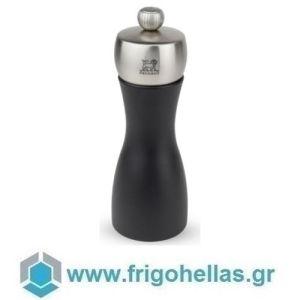 PEUGEOT 17132 FIDJI (15cm) Μύλος Πιπεριού Οξιά Black Matt-Inox (42767P15)
