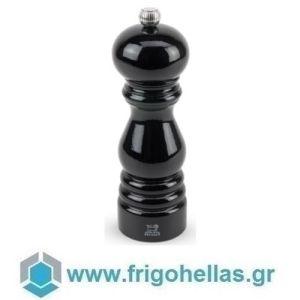 PEUGEOT 1870418 PARIS (18cm) Μύλος Πιπεριού Οξιά Black Lacquered Κλασικός (42747P18)
