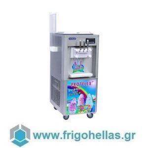 PROTELEX EASY (3 Γεύσεις) Παγωτομηχανές-Μηχανές παγωτού soft ice χωνάκι - 2 x 7Lit