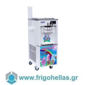 PROTELEX EASY WHITE (3 Γεύσεις) Παγωτομηχανές-Μηχανές παγωτού soft ice χωνάκι - 2 x 7Lit