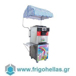 PROTELEX RED (3 Γεύσεις) Παγωτομηχανές-Μηχανές παγωτού soft ice χωνάκι - 2 x 13Lit