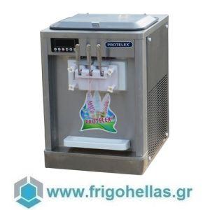 PROTELEX TABLE SMALL (3 Γεύσεις) Παγωτομηχανές-Μηχανές παγωτού soft ice χωνάκι - 2 x 7Lit