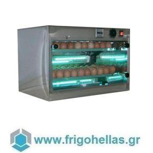 Risparmia STV 120 Αποστειρωτής Αβγών με Υπεριώδεις Ακτίνες UVC -Χωρητικότητα: 120 αβγά
