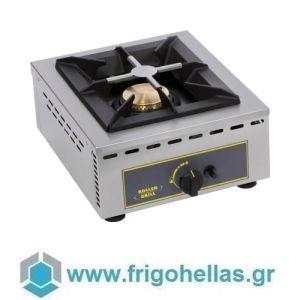 ROLLER GRILL GAR 7B Επιτραπέζια Μονή Εστία Αερίου- 370x510x195mm (Υποστηρίζεται από Εξουσιοδοτημένο Service)