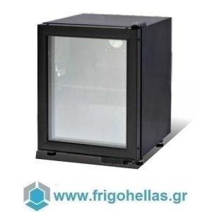 Sanden Intercool Thailand ICG-025II (Εξουσιοδοτημένο Service - Επίσημος Μεταπωλητής) Επιτραπέζια Βιτρίνα Αναψυκτικών Με 1 Πόρτα Ανοιγόμενη-55lt-Μαύρο-435x495x663mm