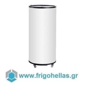 Sanden Intercool Thailand ICG-065 (65lit) (Εξουσιοδοτημένο Service - Επίσημος Μεταπωλητής) Επιδαπέδιο Ψυγείο Αναψυκτικών Can Cooler- Ø445x960mm