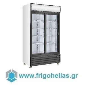Sanden Intercool Thailand ICG-1000L (1000lit) (Εξουσιοδοτημένο Service - Επίσημος Μεταπωλητής) Επαγγελματικά Ψυγεία Αναψυκτικών-2 Πόρτες -1130x700x2023mm