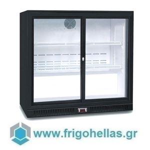 Sanden Intercool Thailand ICG-208HB (208lit) (Εξουσιοδοτημένο Service - Επίσημος Μεταπωλητής) Επιτραπέζιο Ψυγείο Βιτρίνα Συντήρησης Με 2 Πόρτες Ανοιγόμενες- 900x520x865mm
