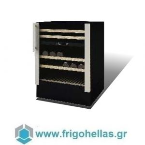 Sanden Intercool Thailand ICG-W45 (45 Μπουκάλια) (Εξουσιοδοτημένο Service - Επίσημος Μεταπωλητής) Ψυγείο Κάβα Κρασιών-Μαύρο- 595x573x890mm