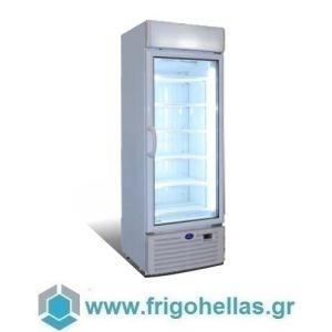 Sanden Intercool Thailand SNR-0503 (510 lit) Ψυγείο Βιτρίνα Κατάψυξης με Αέρα-Μαύρο- 670x710x1960mm