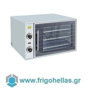 SERGAS F55 (Εξουσιοδοτημένο Service - Επίσημος Μεταπωλητής) Ηλεκτρικός Κυκλοθερμικός Φούρνος