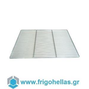 FrigoHellas O.E.M M061921 (650x530mm) Σχάρα Inox για Φούρνους & Ψυγεία (GN 2/1)