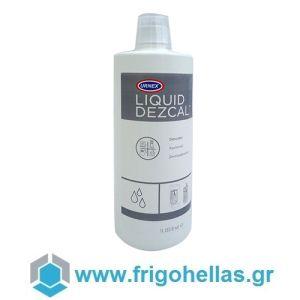 URNEX Liquid Dezcal 1Lit Υγρό Καθαριστικό Αλάτων Για Μηχανές Καφέ (Περιεχόμενο: 1Lit)