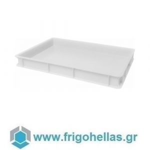 VAS007 (60x40x7cm - 13Lt) Επαγγελματικά Δοχεία Τροφίμων Λευκό