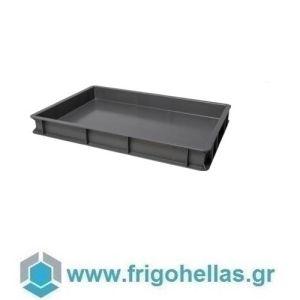 VAS007 (60x40x7cm - 13Lt) Επαγγελματικά Δοχεία Τροφίμων Μολυβί - Γκρι (RAL9007)