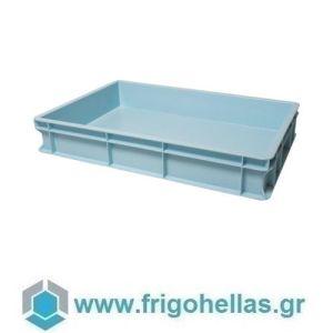 VAS010 (60x40x10cm - 19Lt) Επαγγελματικά Δοχεία Τροφίμων Γαλάζιο (RAL1006)