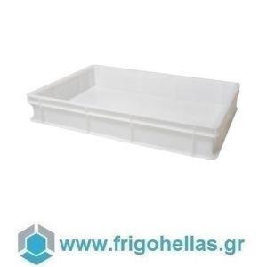 VAS010 (60x40x10cm - 19Lt) Επαγγελματικά Δοχεία Τροφίμων Λευκό