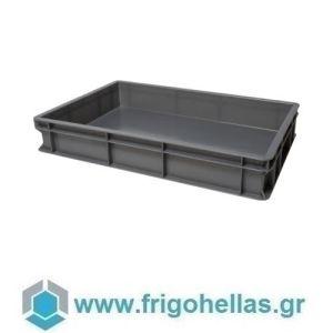 VAS010 (60x40x10cm - 19Lt) Επαγγελματικά Δοχεία Τροφίμων Μολυβί - Γκρι (RAL9007)